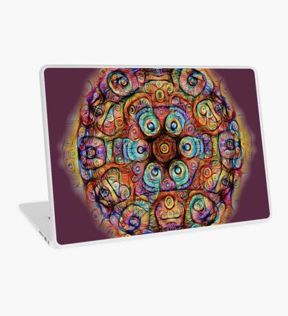 #DeepDreamed Amulet Laptop Skin