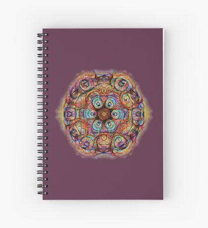 #DeepDreamed Amulet Spiral Notebook