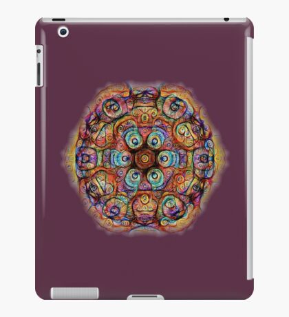 #DeepDreamed Amulet iPad Case/Skin