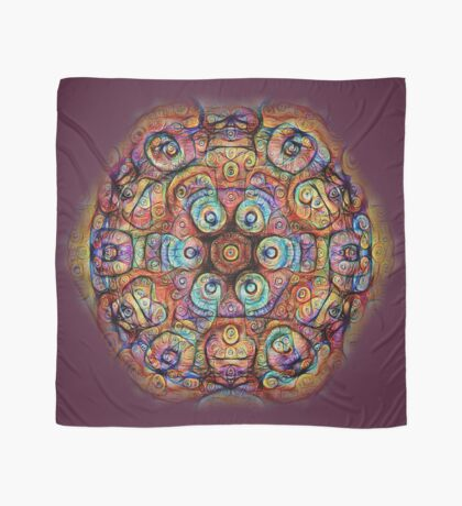 #DeepDreamed Amulet Scarf