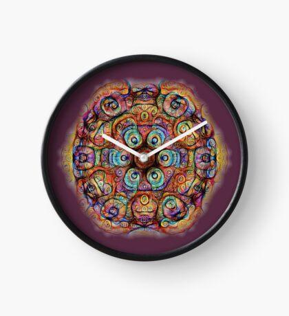 #DeepDreamed Amulet Clock
