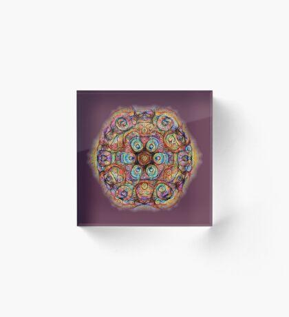 #DeepDreamed Amulet Acrylic Block