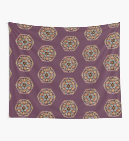 #DeepDreamed Amulet Wall Tapestry