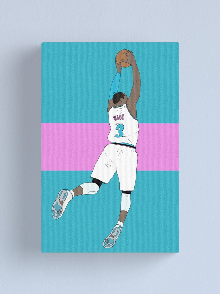 Alternate view of Dwyane Wade Vice Canvas Print