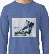 Polaroid Cut+Paste - Manhattan Overpass- Zackattack Lightweight Sweatshirt