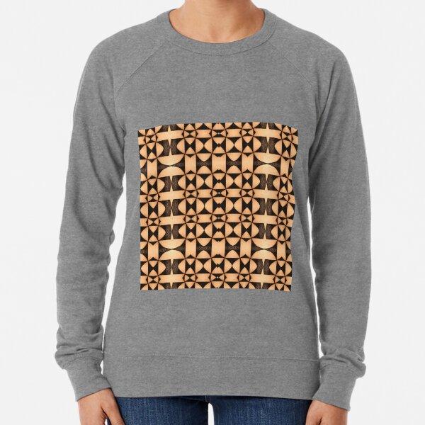 illustration, pattern recognition, design pattern, regular pattern, pattern matching, sentence pattern, test pattern, radiation pattern Lightweight Sweatshirt