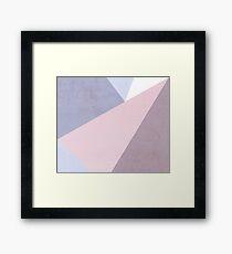 Nude Tones Framed Print