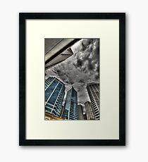 A Storm on Sydney  Framed Print