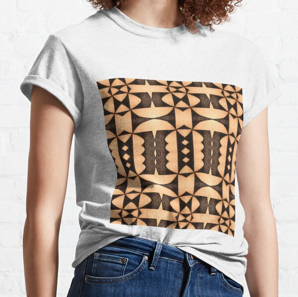 marking, ornament, ornamentation, pattern, drawing, figure, picture, illustration Classic T-Shirt