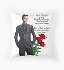Luis Coronel Throw Pillow