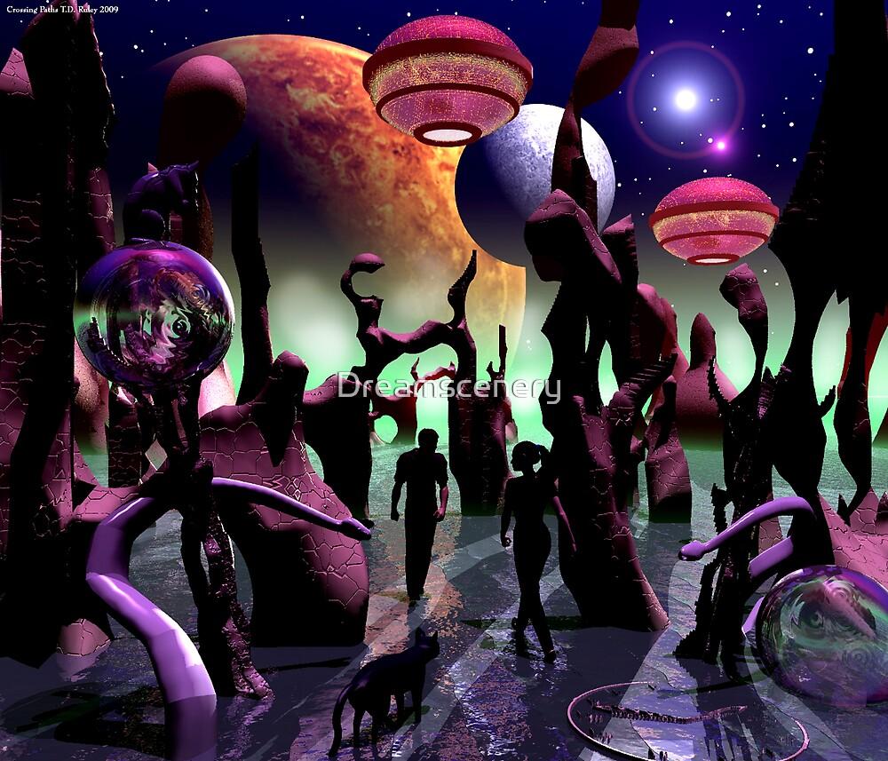 Crossing Paths by Dreamscenery