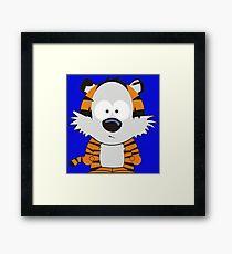 Hobbes Speechless Framed Print