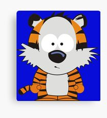 Hobbes Speechless Canvas Print