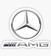 Mercedes benz merch Sticker