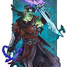 Fjord by AntheaWright