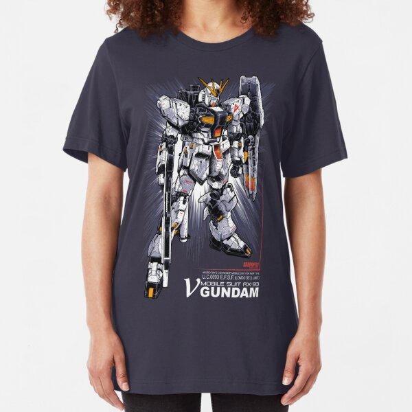 Nu Gundam Slim Fit T-Shirt