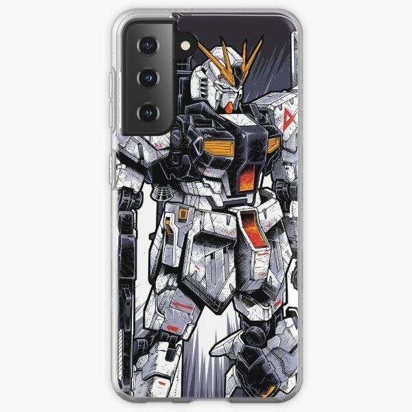 Nu Gundam Samsung Galaxy Soft Case