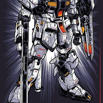 Nu Gundam by Snapnfit