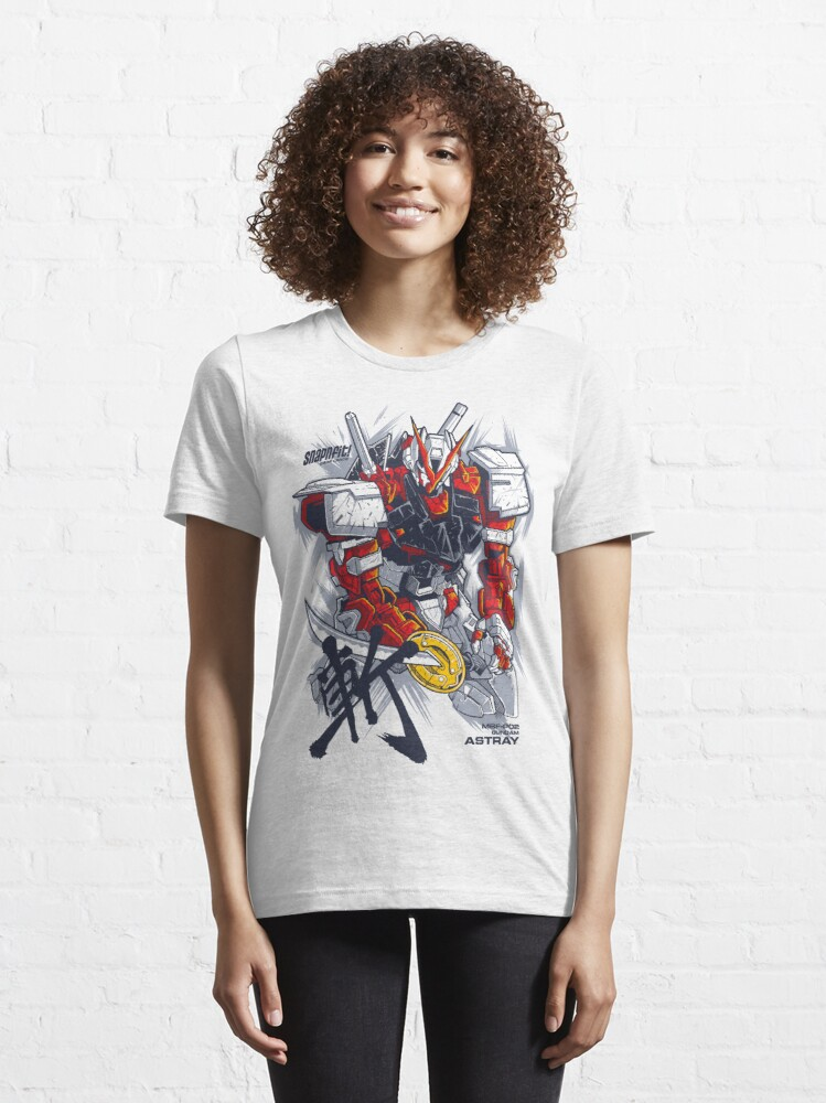 Alternate view of Astray Red Frame Essential T-Shirt