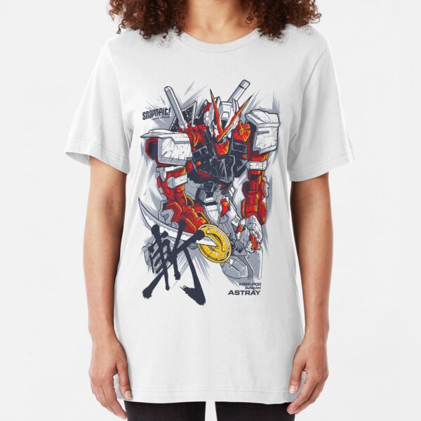 Astray Red Frame Slim Fit T-Shirt