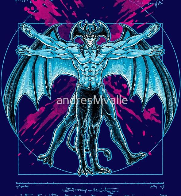 Vitruvian Devil by andresMvalle