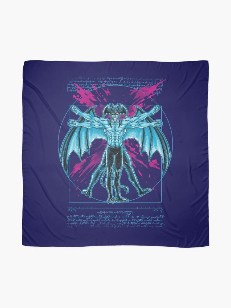 Alternative Ansicht von Vitruvischer Teufel Tuch