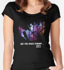 Cowboy Bebop - Nebula Women's Fitted Scoop T-Shirt