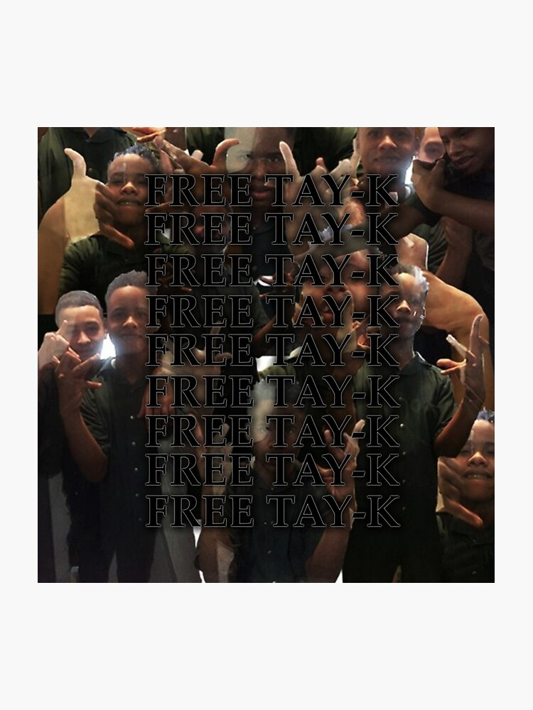 free tay-k tayk jail prison after you the race | Photographic Print