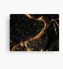 Cosmic fraction Canvas Print