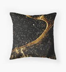 Cosmic fraction Throw Pillow