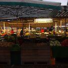 Market in Lüneburg  by Catrin Stahl-Szarka