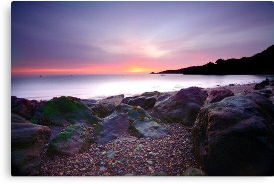Bouley Bay Sunrise by Mark Bowden