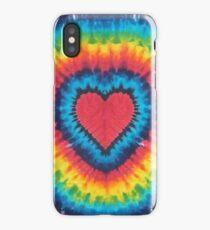 Tie-Dye Heart iPhone Case