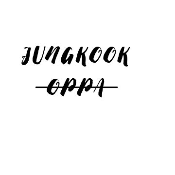 jungkook (not) oppa by ClaireStag