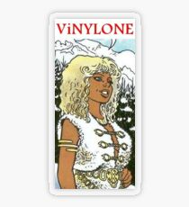 small Aria in winter Vinylone sticker Transparent Sticker