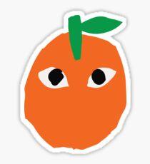 CDG Orange Sticker