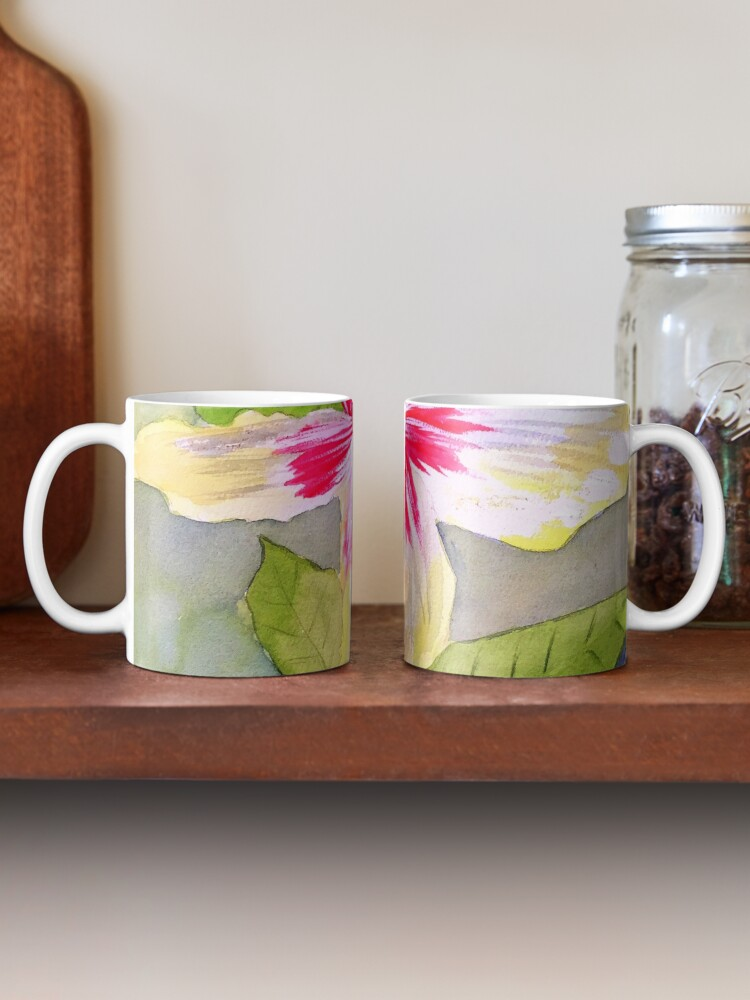 Alternate view of Hibiscus  Mug