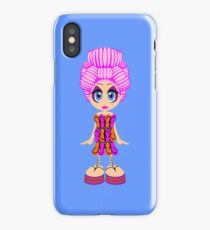 Flip-flop dress doll iPhone Case