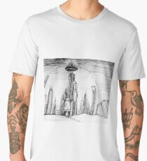 The Shining World of the Seven Systems Men's Premium T-Shirt