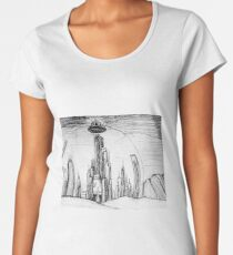 The Shining World of the Seven Systems Women's Premium T-Shirt