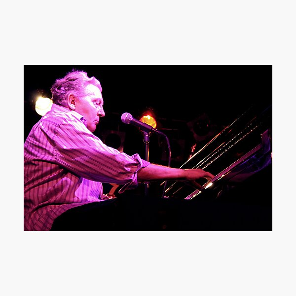 Jerry Lee Lewis Photographic Print