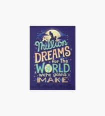 A Million Dreams Art Board Print