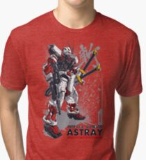 Astray Red Frame Tri-blend T-Shirt