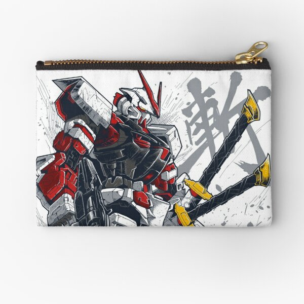 Astray Red Frame Zipper Pouch
