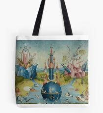 Hieronymus Bosch - Garden of Earthly Delights - Detail #3a Tote Bag