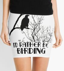 I'd Rather Be Birding Mini Skirt