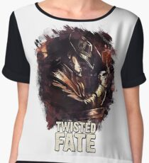 TWISTED FATE - League of Legends [white background edition] Chiffon Top