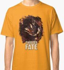 TWISTED FATE - League of Legends [white background edition] Classic T-Shirt