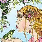 Princess and the Frog by SassyColouring