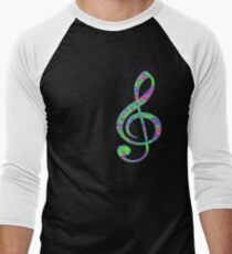 Psychedelic Music! Men's Baseball ¾ T-Shirt